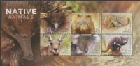 AUS SGMS4299 Australian Native Animals miniature sheet